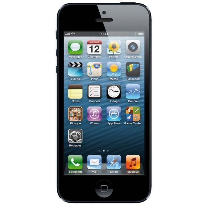 SMARTPHONE IPHONE 5 16 Go Noir