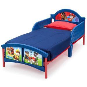 Lit 2 places avec sommier et rangement achat vente lit for Pack chambre de culture pas cher