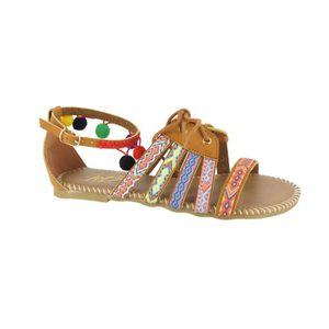 SANDALE - NU-PIEDS JET 7 Sandales de Ville Mafua Multicolore Femme