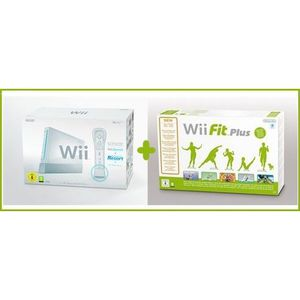 CONSOLE WII CONSOLE Wii BLANCHE SPORTS RESORT + Wii FIT PLUS (