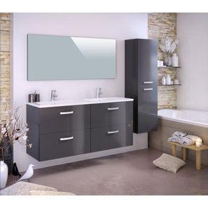 meuble salle de bain sur pieds double vasque achat vente meuble salle de bain sur pieds. Black Bedroom Furniture Sets. Home Design Ideas