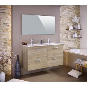 Meuble salle de bain 120 cm - Achat / Vente Meuble salle de bain ...