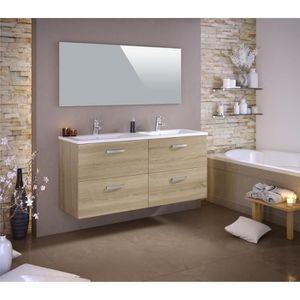 SALLE DE BAIN COMPLETE STELLA Ensemble salle de bain double vasque avec m
