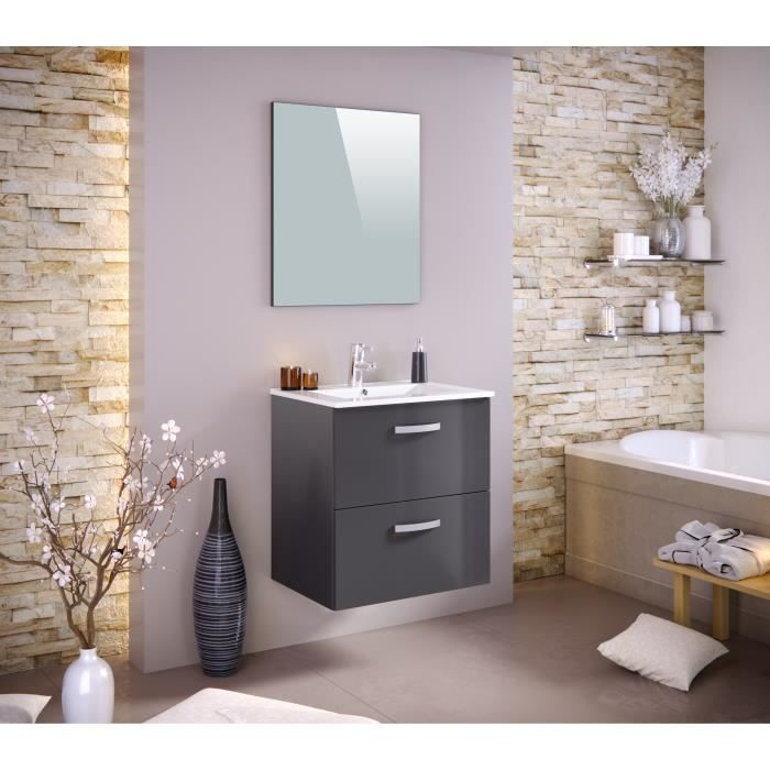 Meuble salle de bain 60 cm - Achat / Vente Meuble salle de bain 60 ...
