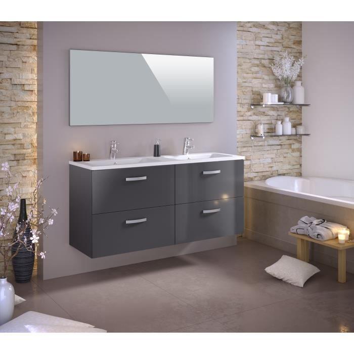 meuble de salle de bain 140cm achat vente meuble de salle de bain 140cm pas cher soldes. Black Bedroom Furniture Sets. Home Design Ideas