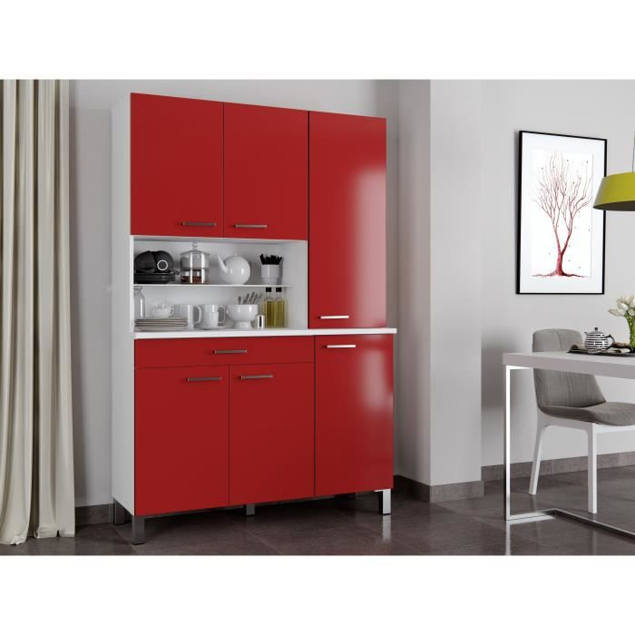buffet de cuisine rouge - achat / vente buffet de cuisine rouge