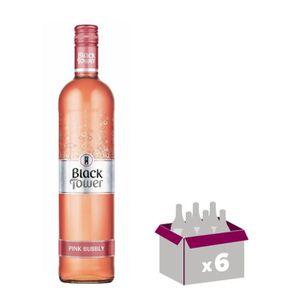 VIN ROSÉ BLACK TOWER Pink Bubbly Vin d'Allemagne - Rosé - 7