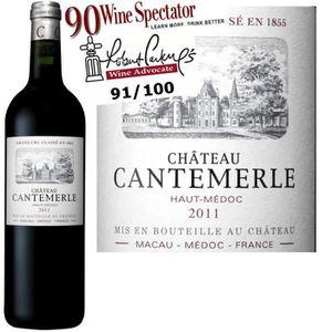 VIN ROUGE Château Cantemerle 2011 Haut Médoc - Vin rouge de