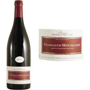 VIN ROUGE Vincent Prunier 2013 Chassagne Montrachet - Vin ro