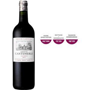VIN ROUGE Cantemerle 2015 Haut-Médoc Bordeaux - Rouge 75 cl