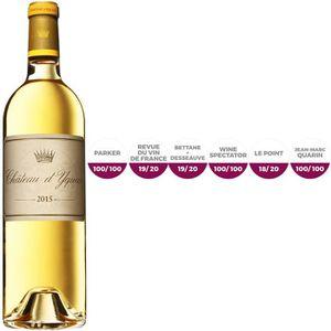 VIN BLANC Château Yquem Sauternes 2015 - Vin blanc