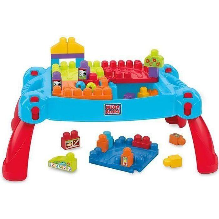 MEGABLOKS First Builders - La Table 3-en-1 - Achat / Vente table ...