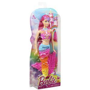 Poupee sirene achat vente jeux et jouets pas chers - Barbie sirene couleur ...
