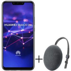 SMARTPHONE Pack Huawei Mate 20 Lite Noir + Enceinte CM51