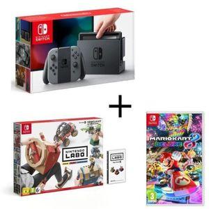 CONSOLE NINTENDO SWITCH Consoles Nintendo Switch Gris + Nintendo Labo Vehi