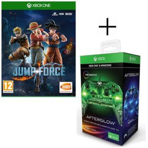 JEU XBOX ONE Jump Force Jeu Xbox One + Manette filaire PDP Afte