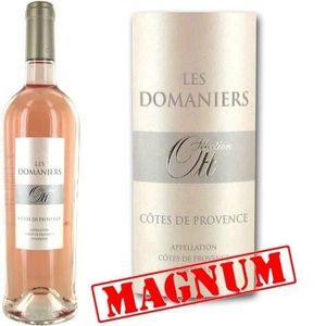 VIN ROSÉ Magnum Les Domaniers 2014 Côtes de Provence vin ro