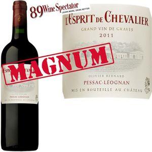 VIN ROUGE Magnum Esprit de Chevalier 2011 Pessac Léognan x1