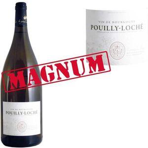 VIN BLANC Magnum Bourgogne Pouilly Loché 2014 vin blanc