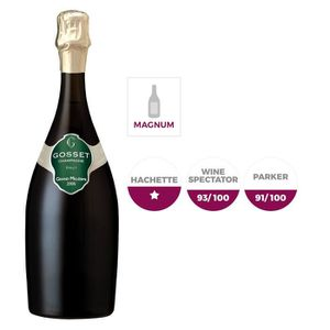 CHAMPAGNE Gosset Gd Mill. 2006 Champagne 1,5L x6