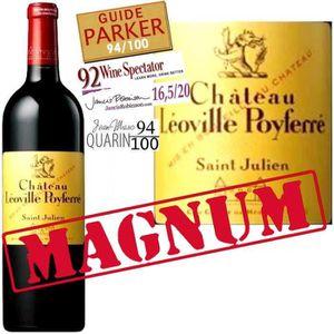 VIN ROUGE Magnum Château Léoville Poyferre 2011 Saint-Julien