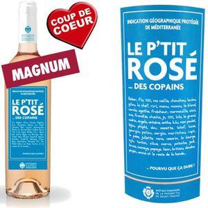 VIN ROSÉ Magnum Le P'tit Rosé des Copains 2014 IGP Méditerr