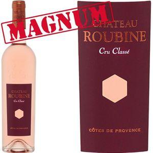 VIN ROSÉ Magnum Château Roubine 2016 AOP Côtes de Provence