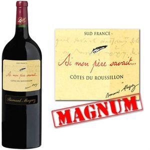 VIN ROUGE Magnum Si Mon Père Savait Côtes du Roussillon 09