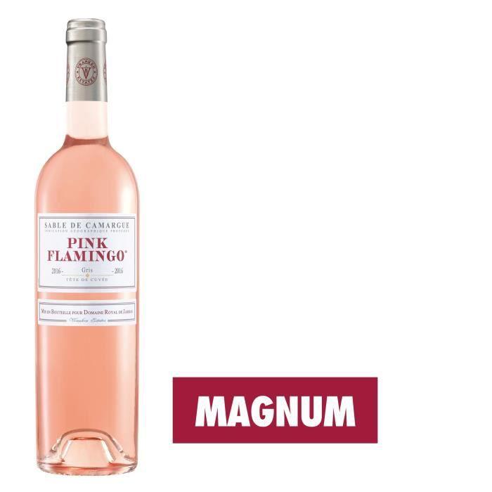 VIN ROSÉ Magnum Pink Flamingo 2016 Camargue - Vin rosé de P