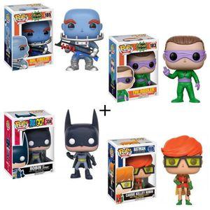 FIGURINE - PERSONNAGE Pack de 4 Pop! Batman