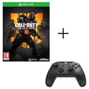JEU XBOX ONE Call of Duty Black OPS 4 Jeu Xbox One + Manette PD