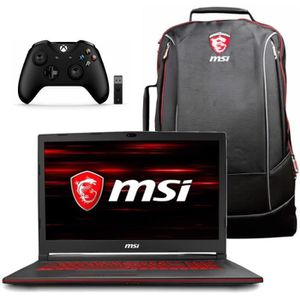 ORDINATEUR PORTABLE Portable Gamer - MSI GL63 8RCS-093FR - 15,6