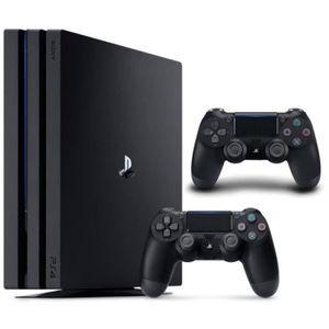 CONSOLE PS4 NOUVEAUTÉ Pack PS4 Pro 1To Noire + Qui-es-tu ? (Jeu PlayLink