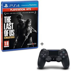 JEU PS4 Pack The Last of Us Remastered PlayStation Hits +