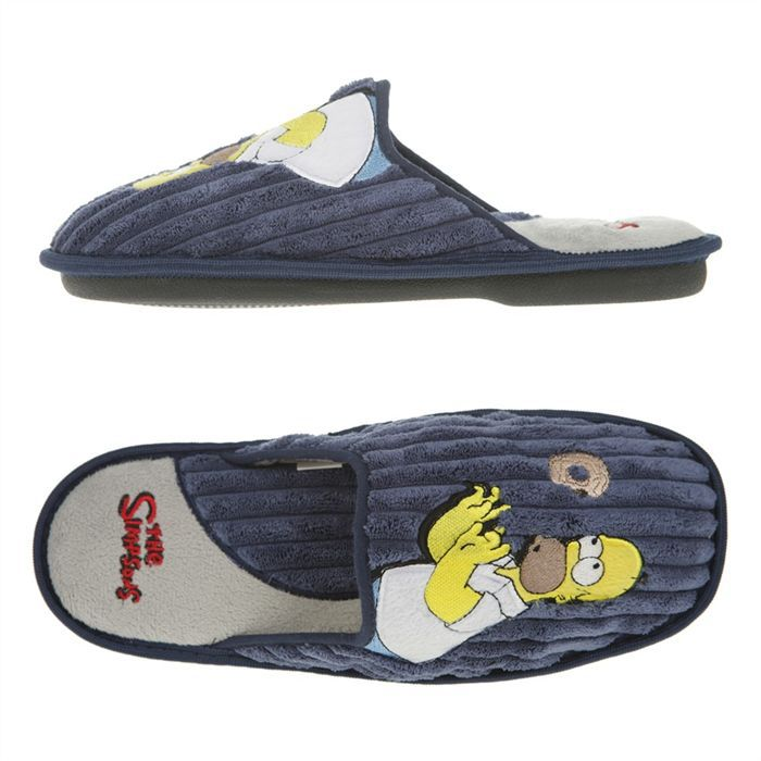 686fc7ae48067 THE SIMPSONS Chausson Relance Homme - Achat   Vente chausson ...