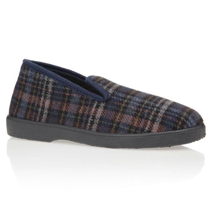 chaussures de séparation 519fa 91da8 BRONZINI Chaussons Charentaise Homme homme Marine, gris et ...