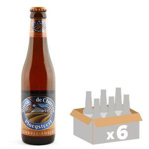 BIÈRE BRASSERIE DU BOCQ Queue de Charrue Bière Ambrée Al