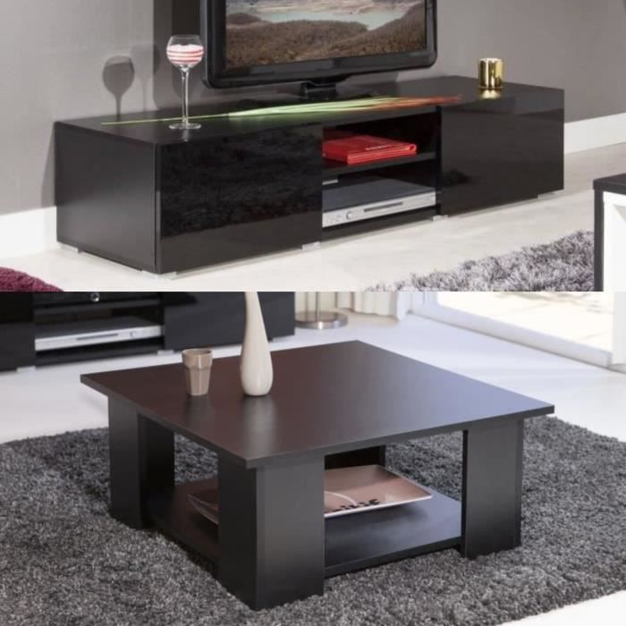ensemble table basse meuble tv achat vente ensemble. Black Bedroom Furniture Sets. Home Design Ideas