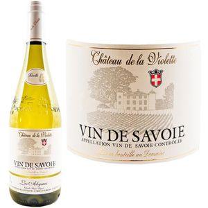 VIN BLANC Château de la Violette Savoie Abymes 2016