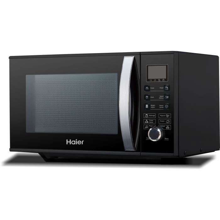 HAIER HGN-2390HEMGB - Micro ondes grill noir - 23 L - 900 W ...