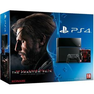 CONSOLE PS4 PS4 500 Go Noire + Metal Gear Solid V: The Phantom