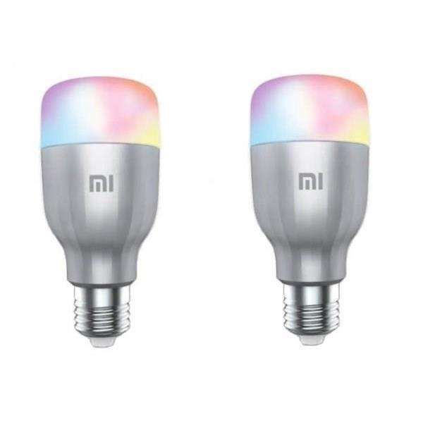 AMPOULE INTELLIGENTE XIAOMI 2 ampoules LED connectées - 800lm - E27 - 1
