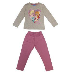 PYJAMA LA REINE DES NEIGES Pyjama 161425 R - Enfant Fille