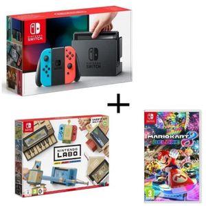 CONSOLE NINTENDO SWITCH Consoles Nintendo Switch Néon + Nintendo Labo Mult