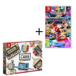 JEU NINTENDO SWITCH Pack 2 jeux Switch : Nintendo Labo Multi-Kit + Mar