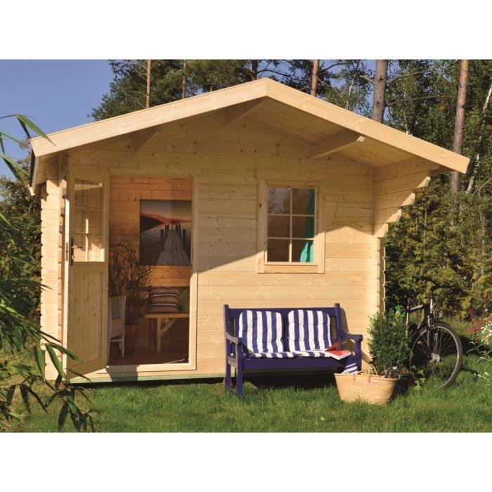 stockholm m1 abri de jardin bois 7 17 m 28mm achat vente abri jardin chalet abri de. Black Bedroom Furniture Sets. Home Design Ideas