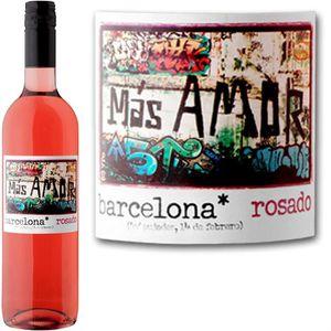 VIN ROSÉ Más Amor Barcelona Rosado