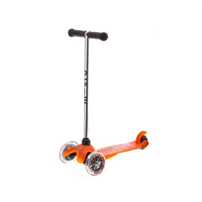 trottinette enfant 3 roues micro mini orange achat vente trottinette 3 roues mini or. Black Bedroom Furniture Sets. Home Design Ideas
