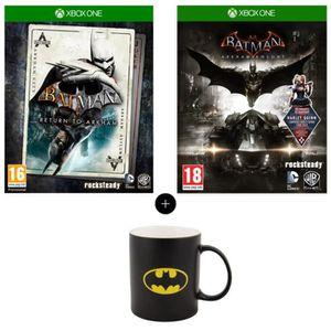 JEU XBOX ONE Pack Batman : Return to Arkham + Batman Arkham Kni