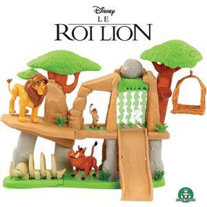 FIGURINE - PERSONNAGE LE ROI LION - La Terre des Lions avec 3 Figurines